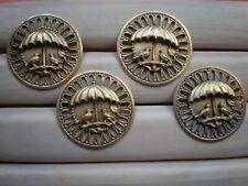 1 ANCIEN BOUTON EN LAITON  DES OISEAUX DIAMETRE 3,6 CM
