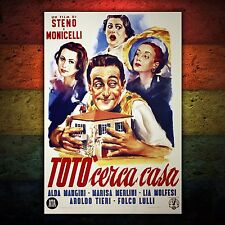 Poster Vintage Cinema Totò Cerca Casa - Formato: 70x100 CM