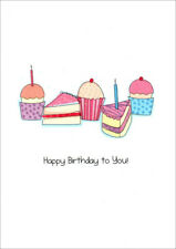Cupcakes and Cake Slices Birthday Card - Greeting Card by Freedom Greetings