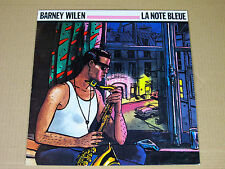 LP Barney Wilen - La Note Bleue - Loustal - 1987 France