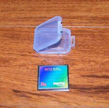 RITZ Big Print Digital Film 64MB CompactFlash Memory Card In Case