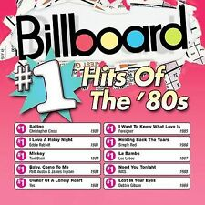 Billboard #1 Hits of the 80's - Various Artists (Audio CD - 2003) NEW