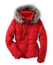 NWT AEROPOSTALE Fur Coat Jacket size XS XSmall puffer