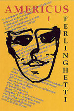 NEW Americus, Book I by Lawrence Ferlinghetti
