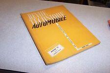 REVUE TECHNIQUE AUTOMOBILE N° 95 MARS 1954 ROVER 75 SOMECA DA-50