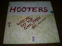 "HOOTERS (12"" MAXI SINGLE) ""WHERE DO THE CHILDREN GO [HOLLAND CBS 45RPM VINYL] M-"
