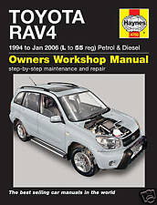 Haynes Manual Toyota RAV4 1994-2006 Petrol Diesel 4750 NEW
