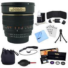 Rokinon 85mm f/1.4 Aspherical Lens kit for Sony E-Mount