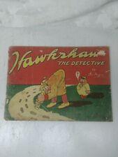 "1917 Adventures Of Hawkshaw #1 Comic Book ""Rare"""