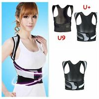 Unisex Shoulder Spine Support Brace 3D Therapy Posture Correct Straightener Back