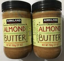 Almond Butter Creamy 2 Pack Kirkland Signature 54 Oz(Free Expedited Shipping)