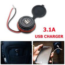 12V Car Dual USB Port Charger Cigarette Lighter Socket Adapter Power Adaptor UK