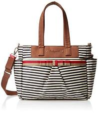 BABYMEL DIAPER BAG TOTE CARA NAVY STRIPE