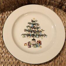 "MARTHA STEWART EVERYDAY ""Christmas Morning""  dinner plate 11"" tree presents"