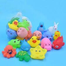 Baby Bath Water Toys Rubber Duck Fish Beach Toy For Girls Boys Children Bathing
