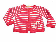 Mayoral great Cardigan Size 68/74 red-white Striped!!!