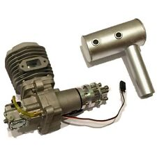 BN BH50cc Gasoline Engine w/muffler&electrical ignition for RC Airplane On Sale