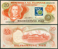 20 Pesos, BNSP 36 Years Anniversary Banknote Society Philippines Ovpt.
