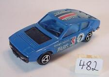 Majorette 1/55 Nr. 219 Matra Simca Bagheera Coupe blau Dachbeschriftung #482