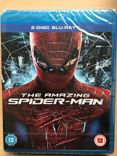 The Amazing Spider-Man 2012 Marvel Universe Superher Film UK Blu-ray