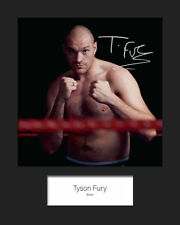 Boxing F Collectable Pre-Printed Sports Autographs