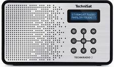TechniSat TECHNIRADIO 2, 0000/4965 schwarz/silber DAB+ / UKW Radio neu