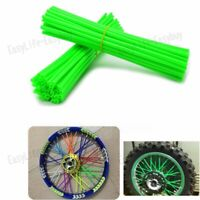 72pcs Moto Wheel Spoke Wraps Skins For kawasaki KX125/250 KX250F/450F EZ
