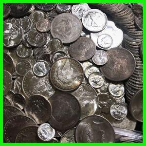 ✯90% SILVER US COINS LOT✯ UNC OLD ESTATE SALE LOT HOARD ✯Pre-1964 BULLION GOLD✯