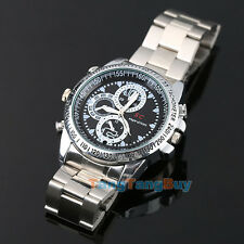 8GB Waterproof HD Spy Wrist Watch Video Recorder Hidden Camera DVR DV Camcor New
