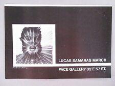 Lucas Samaras Art Gallery Exhibit PRINT AD - 1974