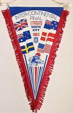 1983 Inter-Continental Final Speedway Pennant Hans Nielsen Birmingham Brummies