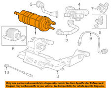 GM OEM-Vapor Canister Fuel Gas Emission 23294932