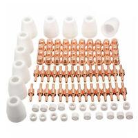 100 PCS/Set Plasma Tip Nozzle PT-31 Air Plasma Cutter Part Suit for CUT50 Torch