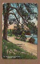 Spokane,WA Washington Drive in Down River Park used 1916
