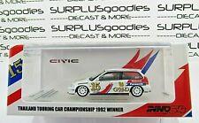 INNO64 1:64 Thailand Exclusive 1992 HONDA CIVIC EF9 #15 Singha Touring Car Champ
