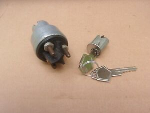 1935-1948 Plymouth Dodge Desoto Chrysler NEW Ignition Switch & Lock Cylinder