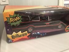 "DC COMICS  BATMAN 1966 CLASSIC TV SERIES BATMOBILE FOR 6"" SCALE FIGURES MATTEL"