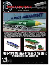 GBU-43/B Massive Ordnance Air Blast (MOAB) 1/24th Scale Resin assembly Kit