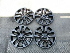 "Set of 4 New 2013 2014 2015 Altima Wheel Covers 16"" Hubcaps Black 53088"