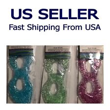USA SELLER- Gel Ice Eye Mask Cold Relieves Eye Stress & Reduces Puffiness