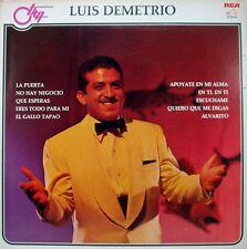Luis Demetrio     La Puerta Eres Todo para Mi  y otros LP