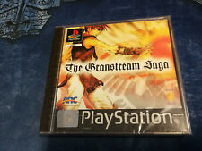 Videogame THE GRANSTREAM SAGA Playstation 1 PSX PS1 PSONE NEW & SEALED 1st print