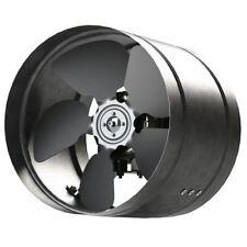 Inline Duct Fan 160-350mm Zinc Plated Metal aRw Ducting Industrial Extractor Fan