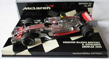 F1 1/43 MCLAREN MP4/23 MERCEDES KOVALAINEN SHOWCAR 2008 MINICHAMPS