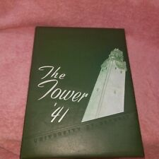 THE TOWER  1941 University Of Detroit - Yearbook - McNichols Livernois -FreeSHIP