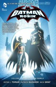 Batman and Robin, Vol. 3: Death of the Family [The New 52] Tomasi, Peter J. Very