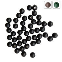 100pcs Carp Fishing Round Soft Rubber Beads Fishing Beans Float Rig Accessories