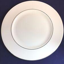 """Wedgwood Vera Wang Blanc Sur Blanc Dinner Plate ~ 10.75"""" ~ NWT ~ Free Ship!"""