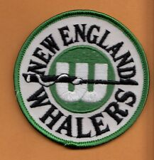 NHL OLD HARTFORD NEW ENGLAND WHALERS LOGO 3 inch PATCH Unused Stock