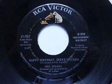 "NEIL SEDAKA Happy Birthday Sweet Sixteen - US Import RCA Victor 7"" (1961)"